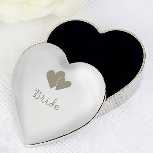 Bride Heart Trinket Box